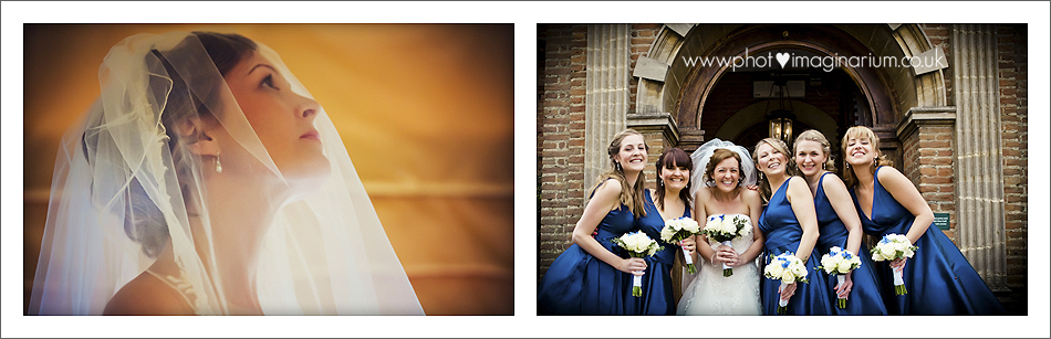 Wedding photography at Horwood House
