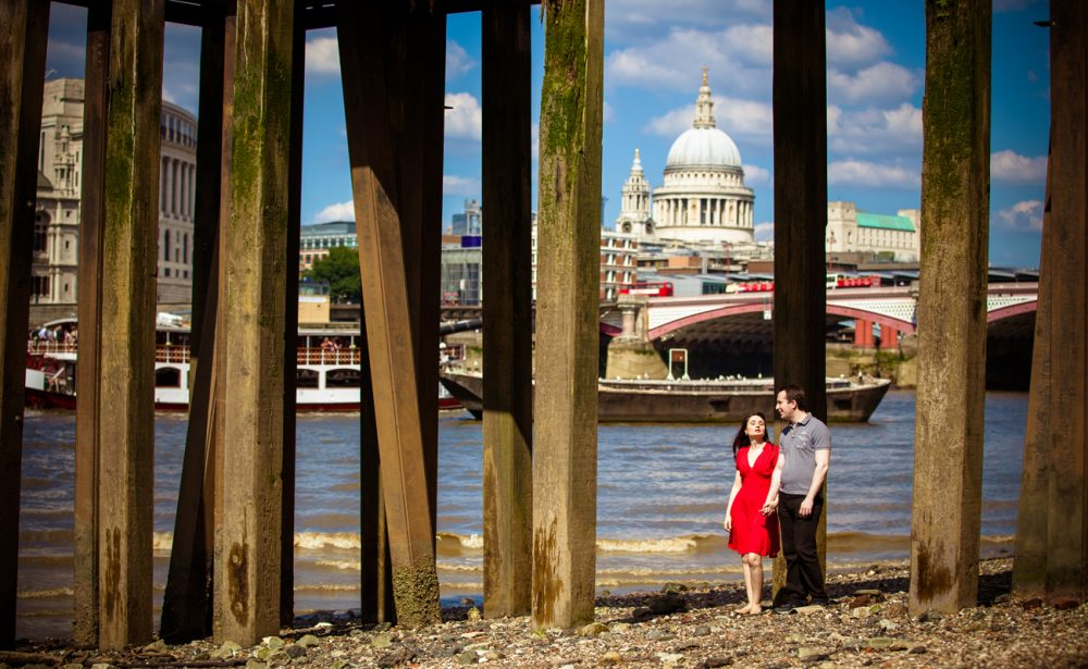 engagement photography session London