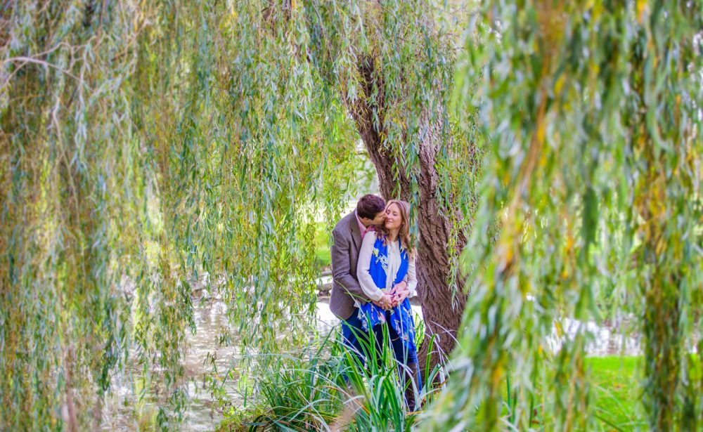 engagement photography session in Oundle Northamptonshire
