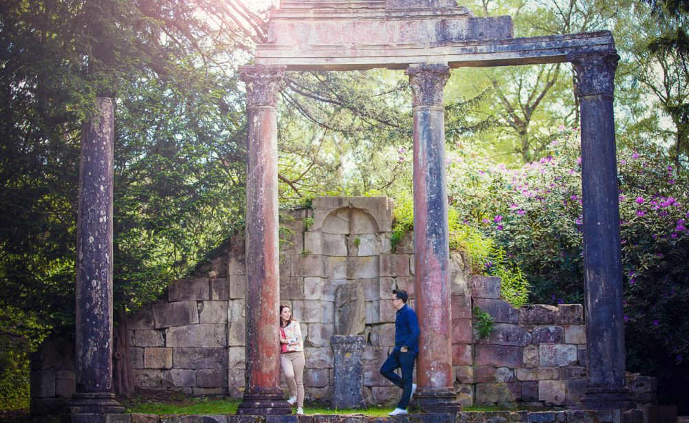 engagement photography session Berkshire
