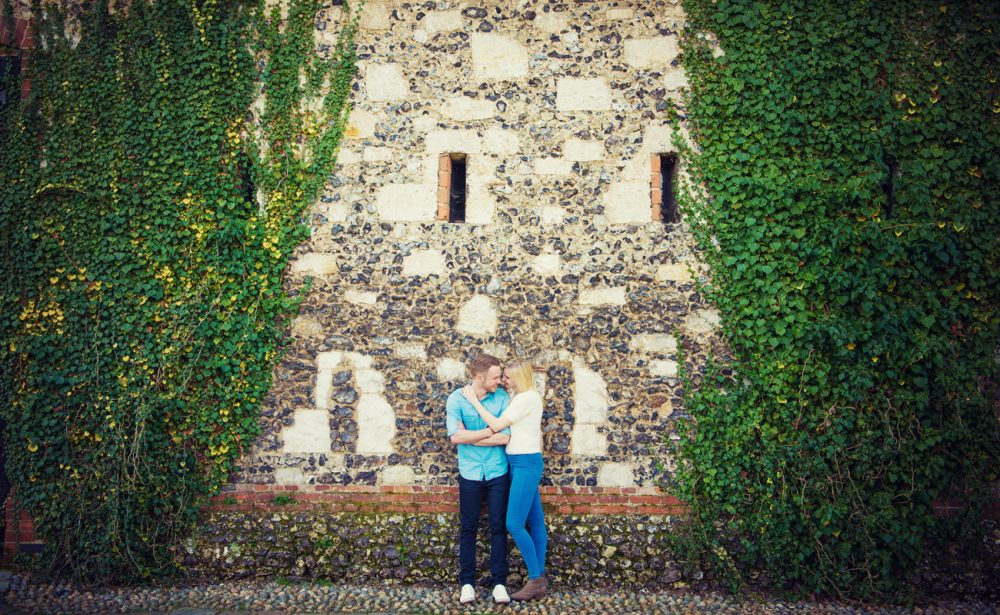 engagement photography session Northamptonshire