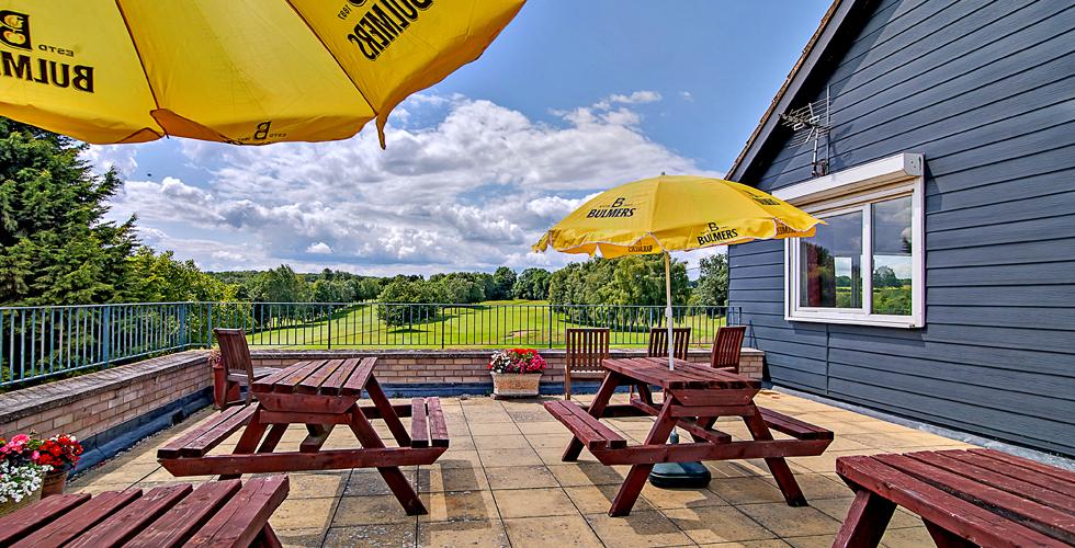 Oundle Golf club bar