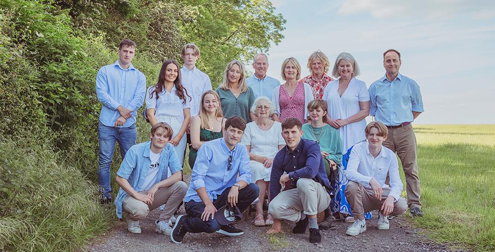 Oundle family photographer